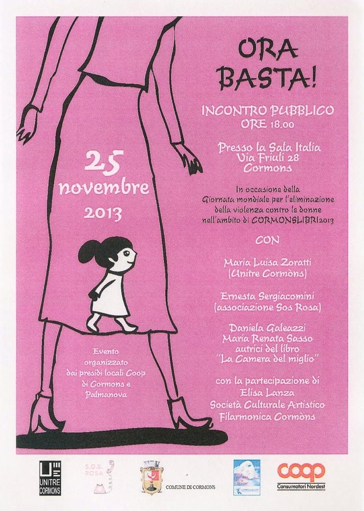 Giornata internazionale per l'eliminazione della violenza contro le donne (5/6)