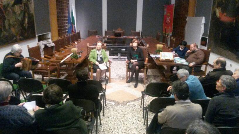Presentazione del 13 marzo 2014 a San Daniele del Friuli, Biblioteca Guarneriana (2/3)