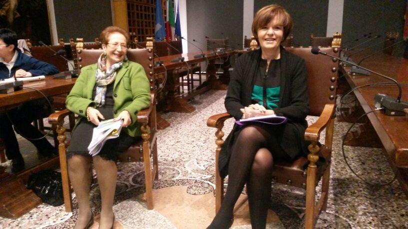 Presentazione del 13 marzo 2014 a San Daniele del Friuli, Biblioteca Guarneriana (1/3)